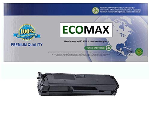 ECOMAX Compatible Toner Cartridge, Replacement for Dell 331-7335 (YK1PM, HF44N) Black Toner Cartridge for Use With Dell B1160, B1160w, B1163w, B1165nfw Printers