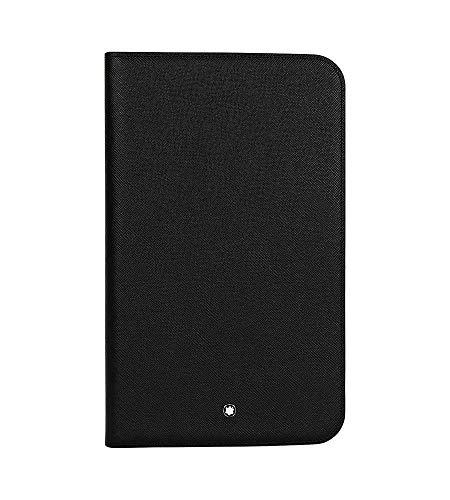 Montblanc Meisterstuck Selection Black Leather Tablet Computer Case 111508