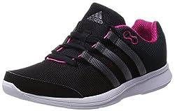 adidas, Women's Sneaker, Multicolor - black / pink - Size: 41 1 / 3 EU