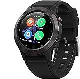 JSL Smartwatch hombres deportes relojes inteligentes frecuencia cardíaca presión arterial altitud presión aire al aire libre brújula GPS posicionamiento