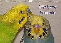 Tierische Freunde (Wandkalender 2022 DIN A4 quer): Tierpaare (Monatskalender, 14 Seiten )