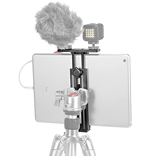 SmallRig タブレット用三脚ホルダーアルミ アルカスイスプレート&1/4ネジ穴付き iPad Pro/iPad Air/iPad/iPad Mini用タブレットアダプター2930
