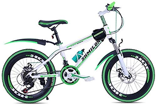 Bicycle Student Road Bike Adult Travel Bicycle Outdoor Sports Bike Variable Speed Bike Spring Summer Mountaineering Bicycle BXM Bike (Color : Green, Size : 20inch)