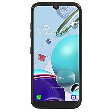Net10 LG K31 Rebel 4G LTE Prepaid Smartphone (Locked) – Black – 32GB – Sim Card Included – CDMA