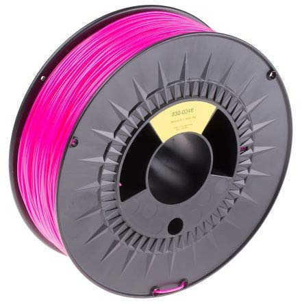 RS PRO 1.75mm Pink PLA 3D Printer Filament, 1kg