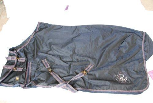 BR Couverture d'extérieur Bleu marine 195 cm