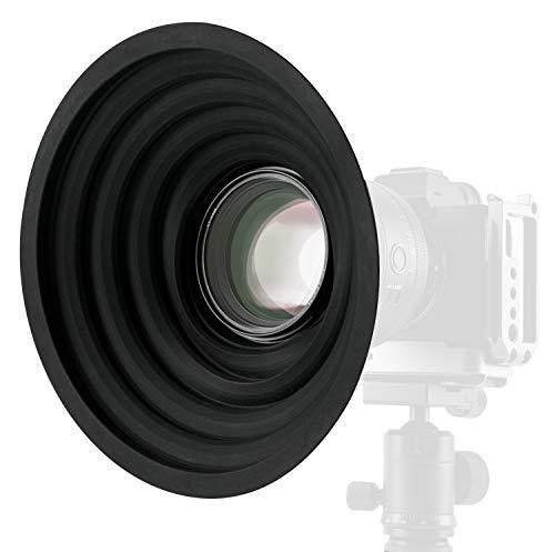 Haida Parasol de silicona para lente de 50 a 70 mm de diáme