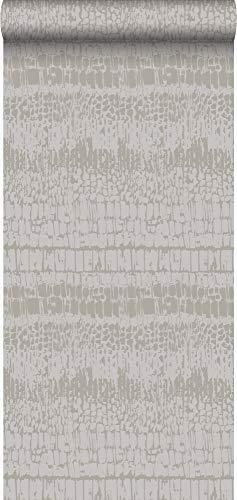 behang dierenhuid paars - 346651 - van Origin - luxury wallcoverings
