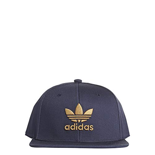 adidas Herren Snapback Trefoil Baseball-Cap, Collegiate Navy/Raw Sand, FR Unique (Taille Fabricant : OSFM)