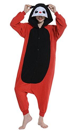 Unisex Animal Pijama Ropa de Dormir Cosplay Kigurumi Onesie Mariquita Disfraz para Adulto Entre 1,40 y 1,87 m