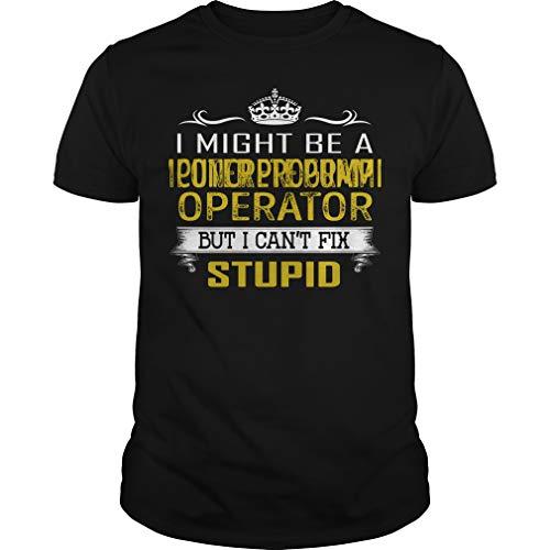 Concrete Pump Operator - I Can't Fix Stupid - Job Shirt Black