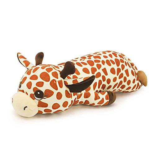 Cute 2165quot Plush Giraffe Stuffed Animal Throw Pillow Bed Nursery Decoration Cuddly Animal Pillow Toy for Kids Giraffe
