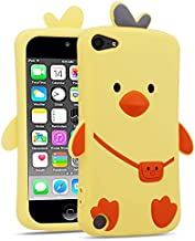for iPod Touch 5 6 7 Case Duck, BEFOSSON 3D Cartoon Cute Kawaii Funny Animal Case for iPod Touch 5th 6th 7th Generation, Girls Boys Teens Kids Soft Silicone Duck Phone Cover Case for iPod Touch 5 6 7