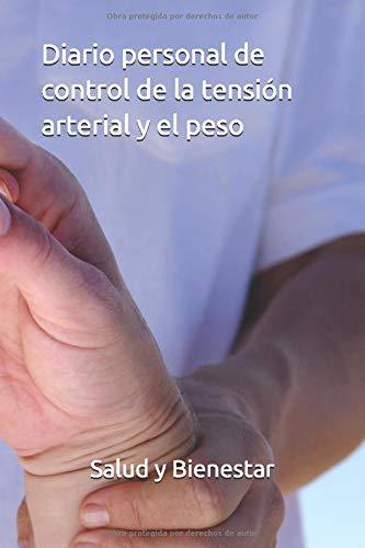 Diario personal de control de la tensión arterial y el peso