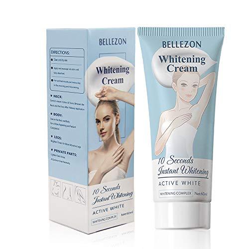 Whitening Cream Effective Lightening Cream for Knees, Elbows, Armpit, Sensitive Areas, Brightens & Nourishes Repairs Skins (1 Fl Oz)