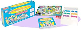 Super Duper Publications Phonological Awareness Fun Park Board Game and Book Educational Learning Resource for Children