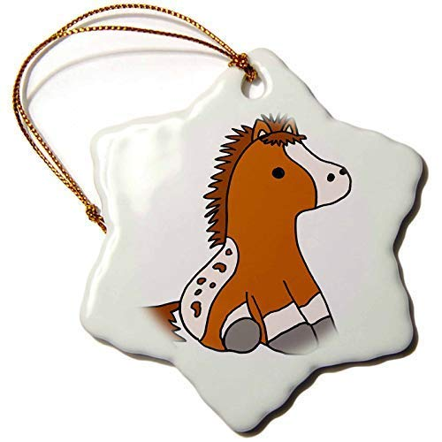Dant454ty Baby Appaloosa Pony Horse Cartoon Christmas Ornaments for the Home 2019 for Women Friends Kids Christmas Tree Ornament