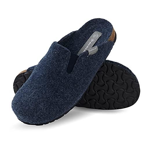 Dunlop Chaussons Homme Confort, Pantoufle Feutre avec...
