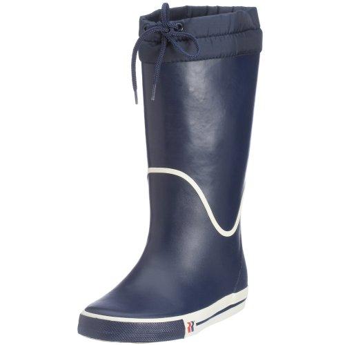 Romika Unisex-Erwachsene Jeanie-Boot Gummistiefel, Mehrfarbig (Marine-weiss), 47 EU
