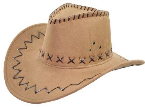 Cowboy Hut Wild West Western Country Mexikanische Marron 03
