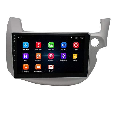 Sonline 10 Pulgadas 2 DIN Android 10.0 Car MP5 Player Radio EstéReo 2 + 16GB WiFi NavegacióN GPS para Fit 2008-2013 RHD