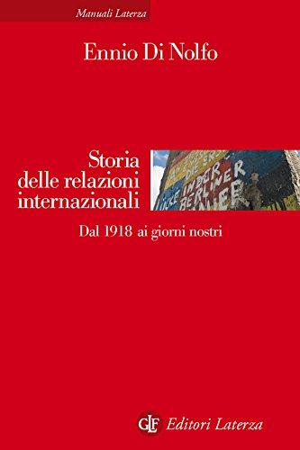 Storia delle relazioni internazionali: Dal 1918 ai giorni nostri
