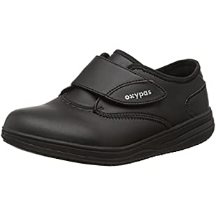 Oxypas Medilogic Emily Slip-resistant, Antistatic Nursing Shoe, Black (Blk), 8 UK (42 EU) - EN safety certified:Eventmanager