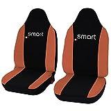 Lupex Shop Smart.3s_N.Ar Coprisedili, Bicolore Nero/Arancione