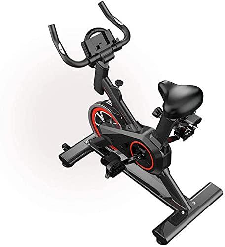 ZJDM Bicicletas de Ejercicio, Control magnético para el hogar Bicicleta de Fitness Interior Ultra silenciosa con Manillar Ajustable y Asiento Entrenador de Cardio Ideal, Equipo de Fitness para en