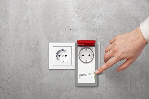 AVM FRITZ!DECT 210 (intelligente Steckdose für Smart Home, mit Spritzwasserschutz (IP 44) für Einsatz im Außenbereich) - 3