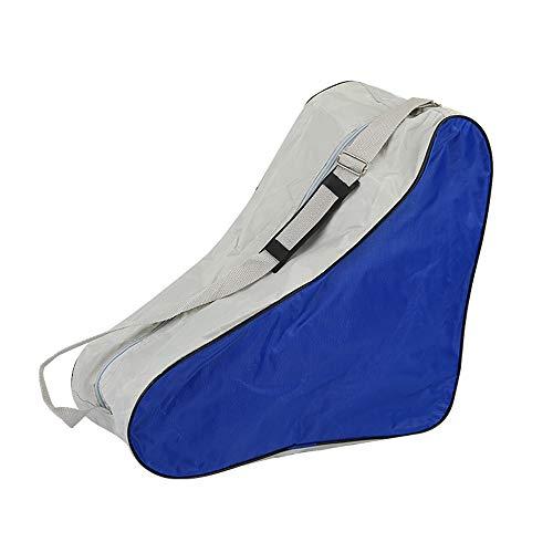 SENDILI Skate Bag - Gute Qualität Schlittschuhe Rollschuhe Tasche für Erwachsene, Blau, 42 * 20 * 39cm