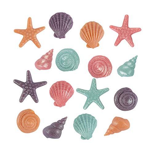 Günthart 16 Figuren Meer | aus Marzipan | Seesterne | Muschel | Meeresschnecken