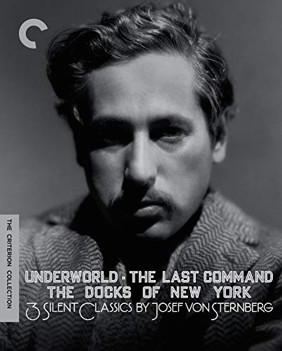 Three Silent Classics by Josef von Sternberg (Underworld / The Last Command / The Docks of New York)(The Criterion Collection) [Blu-ray]