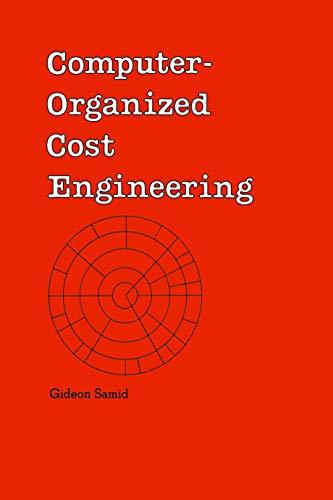 Computer-Organized Cost Engineering: Cost Engineering, No 15