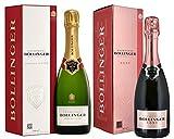 Bollinger Special Cuvée Brut & Rosé Champagne Duo - 2 x