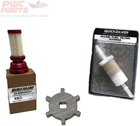 Max 48% OFF PWC Parts price Co Mercury Verado Quicksilver Kit w Remova Filter Fuel