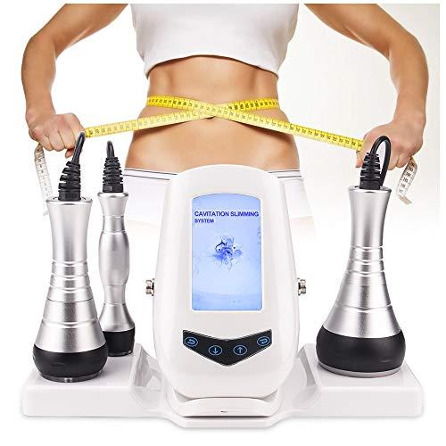 【Actualizado】40K Cavitación Ultrasónica Máquina,Máquina adelgazante 3 en 1 con RF para eliminación de grasa, estiramiento de la piel contra la pérdida de peso contra la celulitis
