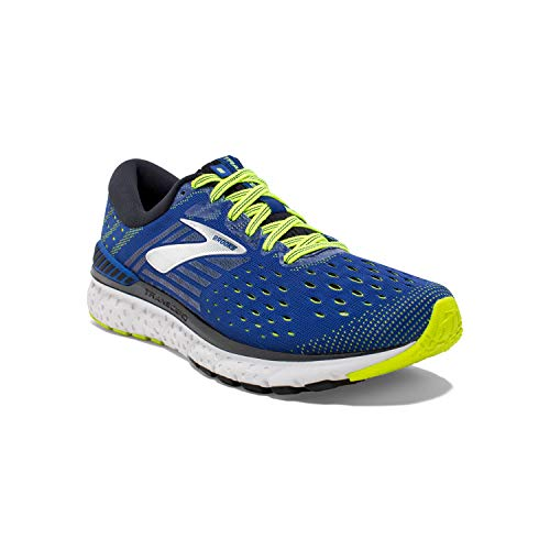 Brooks Transcend 6, Zapatillas de Running para Hombre, Multicolor (Blue/Black/Nightlife 419), 44 EU