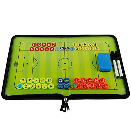 GoodFaith - Pizarra táctica de fútbol con bolígrafos, goma de borrar, imanes