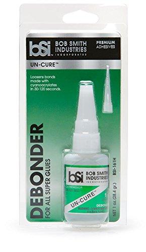 Bob Smith Industries BSI-161H UN-CURE Super Glue Debonder, 1 oz.,Clear
