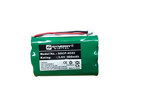 Plantronics CT12 Cordless Phone Battery Ni-MH 3.6 Volt, 800 mAh, Ultra Hi-Capacity Battery - Replacement Battery for Plantronics 6342101 Cordless Phone Battery