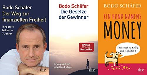 3 Titel von Bodo Schäfer im Set + 1 exklusives Postkartenset