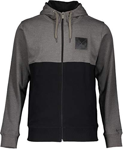 Scott Zip-Hoody 10 casual grijs/zwart