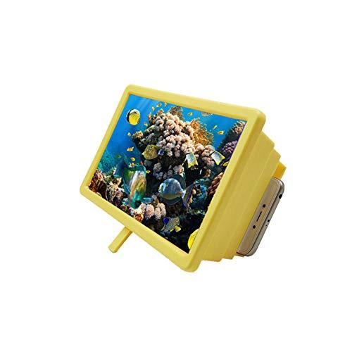 Haplws écran grossissant Pratique, amplificateur d'écran 3D projecteur extenseur d'affichage vidéo Support de téléphone loupe pour Smartphone