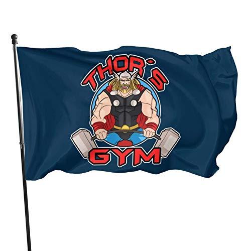Jopath Th-Or Gym Flagge Gartenflagge, Demonstrationsflagge, Familienversammlungsflagge und Wettbewerbsflagge Flagge 3x5 Ft