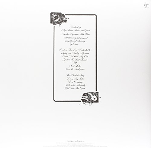 Queen – A Night at the Opera (Limited Black Vinyl) [Vinyl LP] - 2