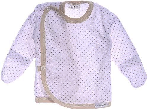 KRATZSCHUTZ Wickelhemdchen Ertslingsshirt Flügelhemdchen Baby Shirt Wickelshirt (50)