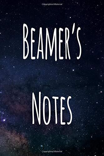 Beamer's Notes