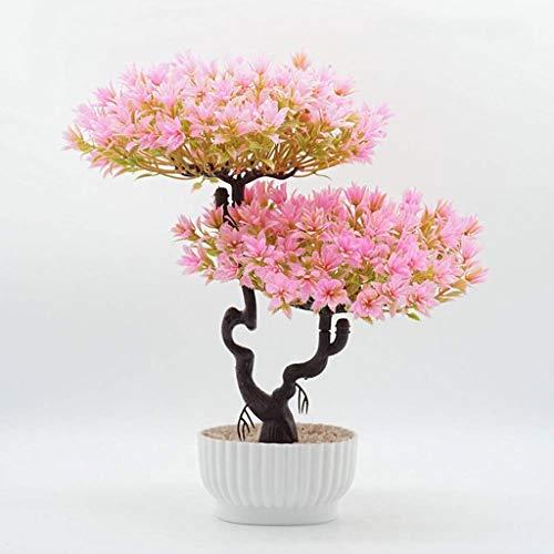 Kunstmatige Plant Kunstmatig Welkome Dennen Simulatie Groene Plant Gepot, Woonkamer Groene Waarde Decoratie Binnen Vensterbank Kunstmatige Boom Kunstmatige Bonsai Kunstmatige Waarde Decoratieve Artif