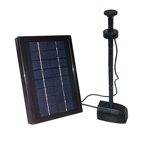 ASC 2.5w Watt Garden Solar Water Pump Kit with Battery